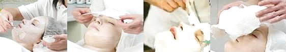 Masca de colagen gipsata