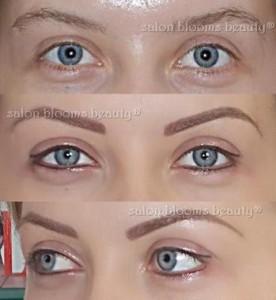 Tatuaj cosmetic sprancene si contur ochi