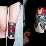 Tatuaj pe genunchi