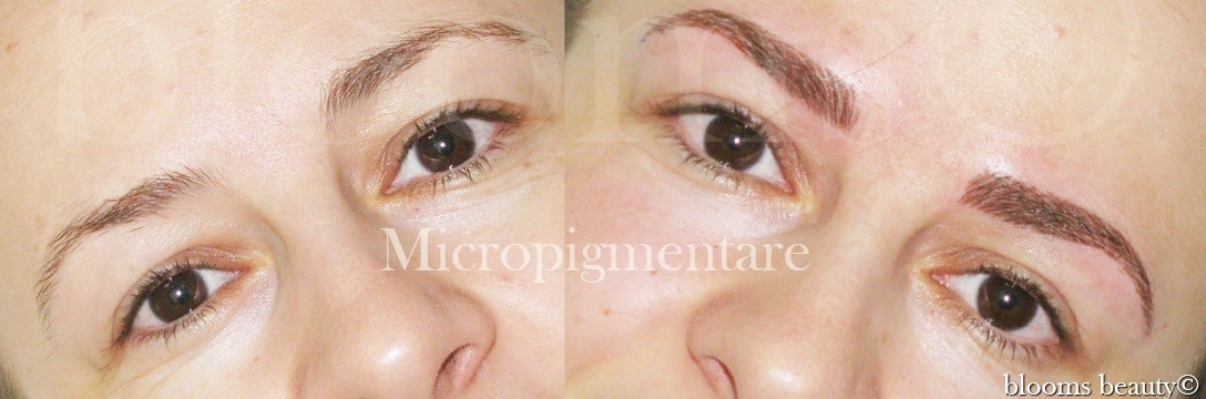Micropigmentare sprancene