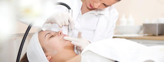 Tratament facial - microdermabraziune