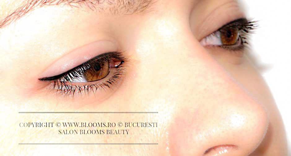 Tatuaj contur ochi codita