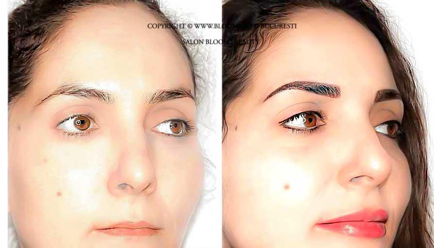 Micropigmentare sprancene, ochi, buze