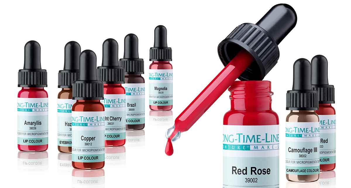 Culori folosite la pigmentarea buzelor