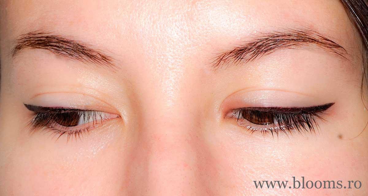 Micropigmentare contur ochi